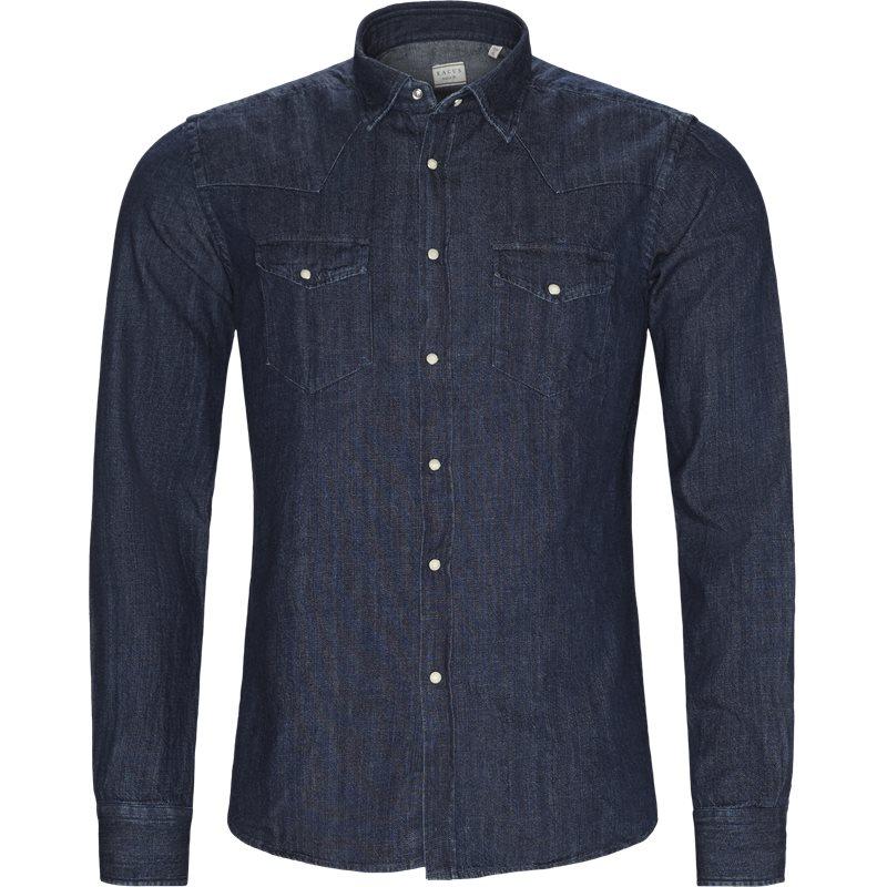 xacus – Xacus skjorte dark denim på axel.dk